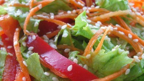 Рецепт салата с угрём горячего копчения