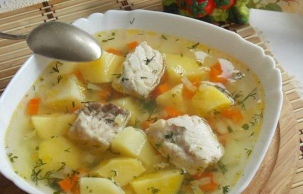 Рецепт супа из картошки и осетра