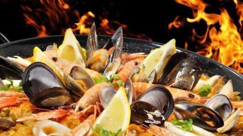 Рецепт — плов с морепродуктами