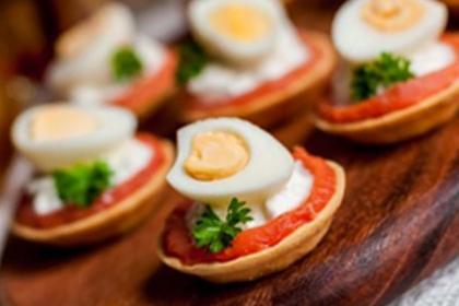 Рецепт - Тарталетки с рыбой и сливочным сыром