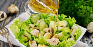 Рецепт вкусного салата с печенью трески