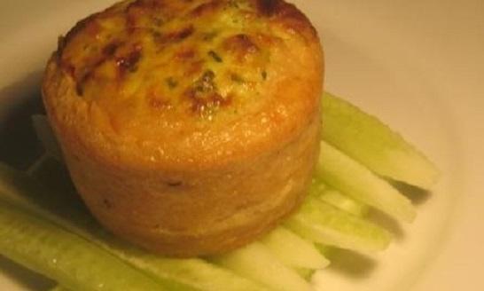 Суфле из нерки с картофелем и сыром