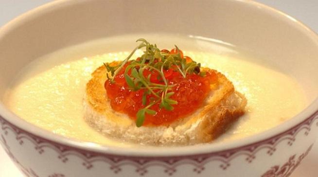 Крем-суп из пастернака